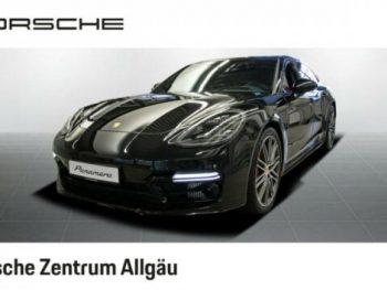 PORSCHE  Panamera GTS Sport Turismo Standhz 21-Turbo ACC, tiefschwarzmetallic