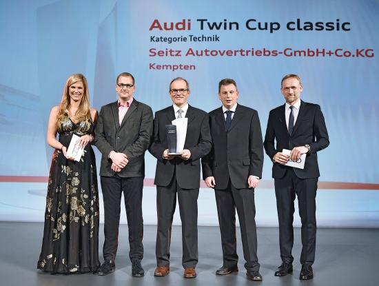 Audi Twin Cup classic - Kategorie Technik