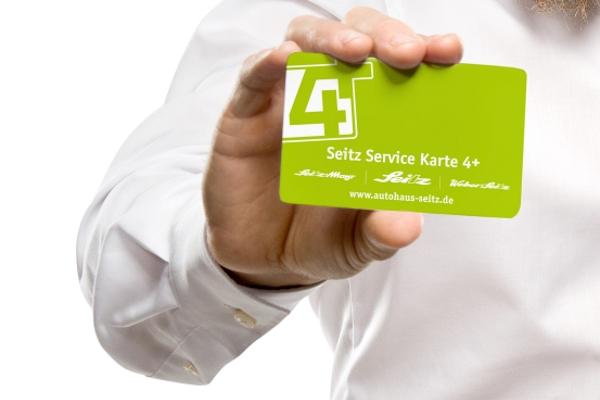 4+ service karte |