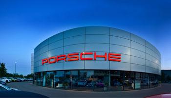 Porsche Vertragshändler in Augsburg