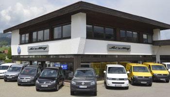 VW Vertragshändler in Oberstdorf