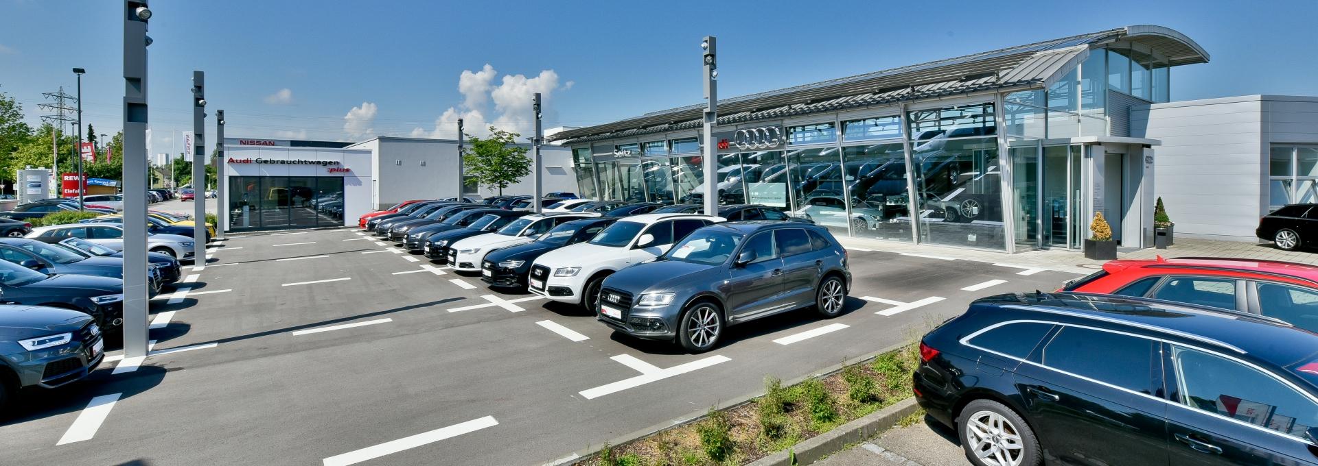 Audi Vertragspartner in Memmingen - Oberschwaben