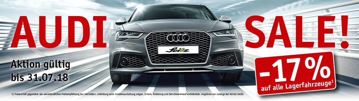 Großer Audi Sommer Sale - Lagerabverkauf bei Autohaus Seitz