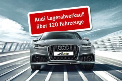 Audi Lagerabverkauf - A3, A4, A6