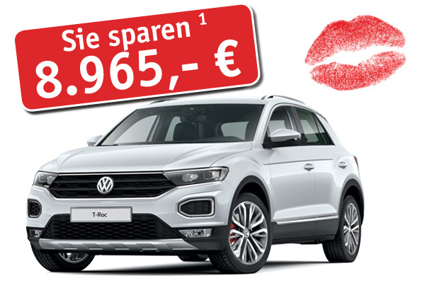 VW T-Roc zum Preisvorteil!